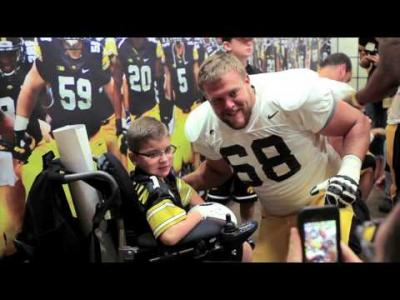 Kids Day at Kinnick 2014