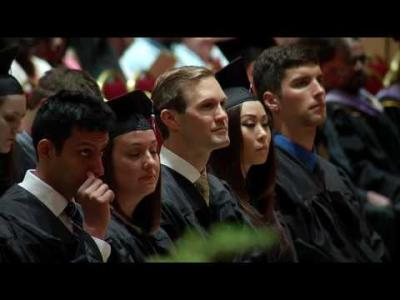 University of Iowa College of Dentistry Commencement - June 3, 2016