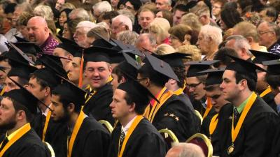 University of Iowa College of Engineering Commencement - May 16, 2015