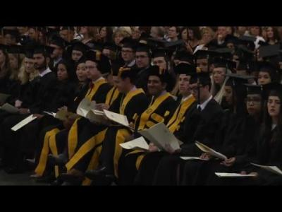 University of Iowa College of Medicine Commencement - May 13, 2016