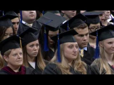 University of Iowa Tippie College of Business Commencement - May 14, 2016