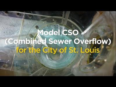 University Model CSO (Combined Sewer Overflow) for the City of St. Louis
