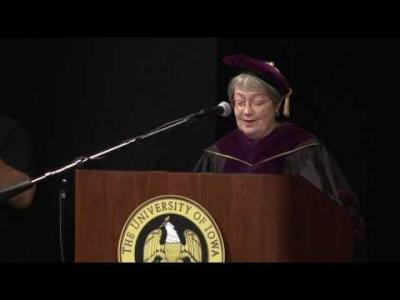 University of Iowa College of Law Commencement - May 12, 2017