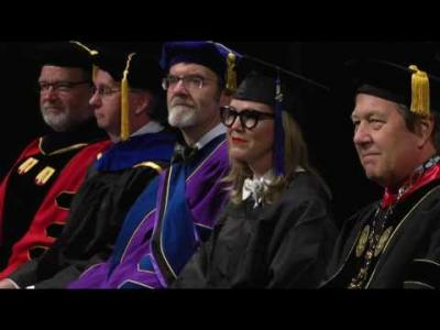 University of Iowa Tippie College of Business Commencement - December 17, 2016