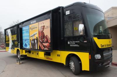 UI Mobile Museum Visits Lucas Elementary School