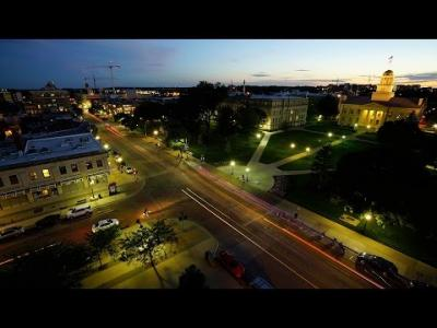 The University of Iowa - Time Lapse August 2014