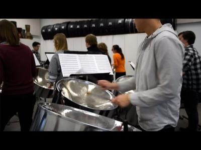 Univeristy of Iowa Steel Drum Band