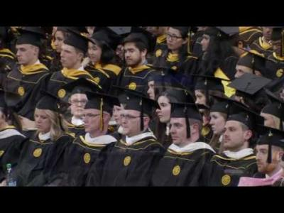 University of Iowa Graduate College Commencement - May 12, 2017