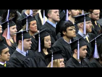 University of Iowa CLAS Commencement - December 19, 2015