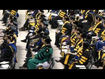 University of Iowa Graduate College Commencement - December 18, 2015
