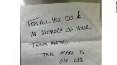 A note on a napkin