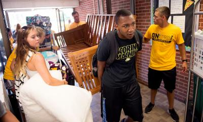 scenes from 2016 move-in