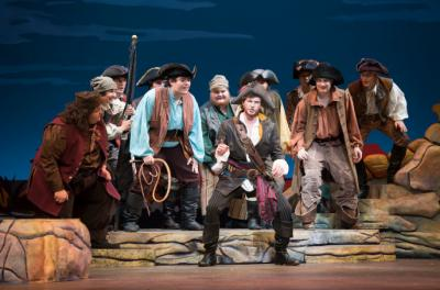 pirates of penzance scene