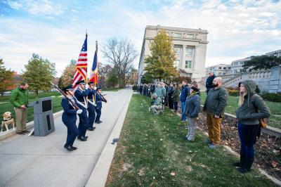 veterans ceremony