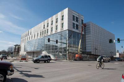 Exterior of new music building