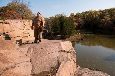 Clint Henning on geosciences trip