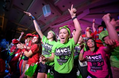 scene from dance marathon 24