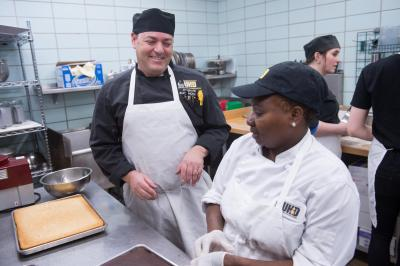 University of Iowa Executive Chef Barry Greenberg racks up wins in local and national competitions while staying true to his goal of serving the highest-quality food possible on campus.