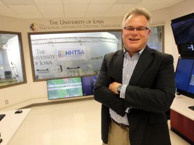 Daniel McGehee, director of the National Advanced Driving Simulator