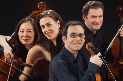 Brentano String Quartet group photo