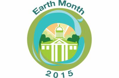 Earth month logo 2015