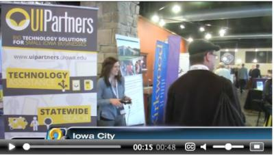 EntreFest attendees browse through booths.
