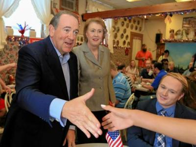 Janet and Mike Huckabee