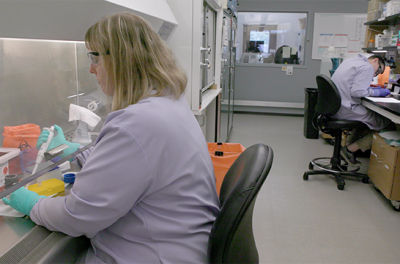researchers at the state hygienic laboratory