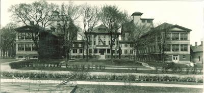university hospital, which later became seashore hall, in 1920