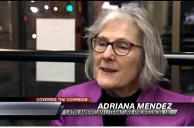 University of Iowa professor Adriana Mendez Rodenas