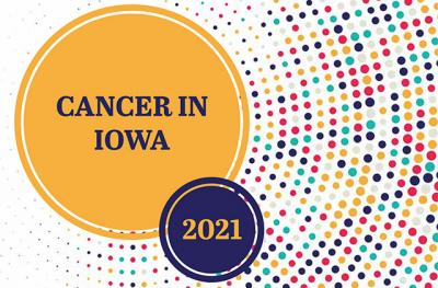 cancer in iowa report cover art