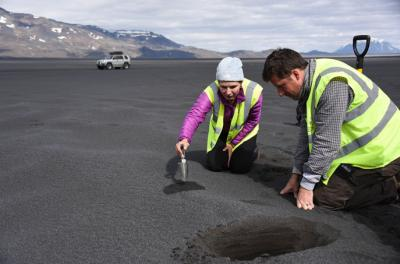 researchers working in iceland