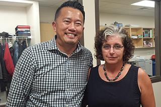 William Ming Liu and Crissy Canganelli