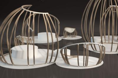 """Ecosystem in the Design Processes,"" an exhibition by the University of Iowa 3-D Design program"