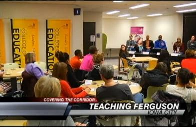 UI College of Education hosts Teaching Ferguson panel