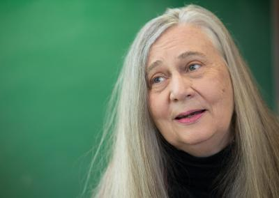 marilynne robinson at reception