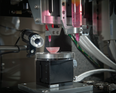 biomedical machinery, a 3-D printer