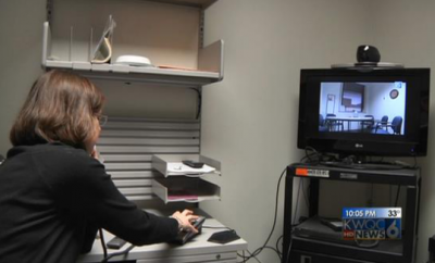 doctor using telemedicine technology