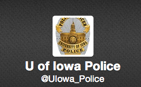 UI police twitter profile