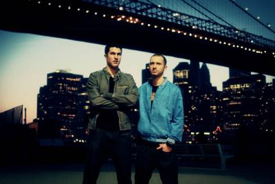 Electro hip pop dub duo Timeflies
