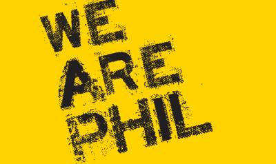 We Are Phil graphic