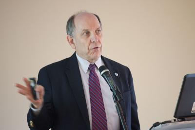 Louis W. Uccellini speaking