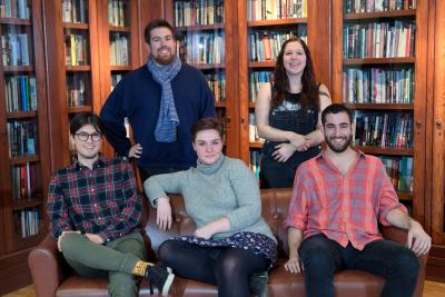 former IYWS participants and current Iowa Writers' Workshop students