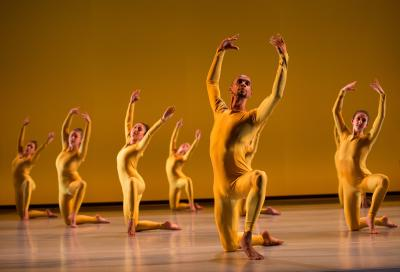 dancers at dance gala rehearsal