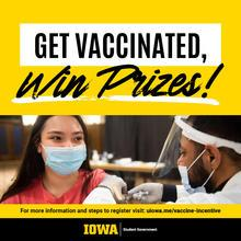 Get vaccinated, win prizes!