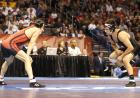 Tony Ramos before the start of his NCAA championship finals match.