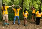 Working as a team is a key element of moving forward and growing as a person. The Iowa Edge program provides a wide variety of opportunities for students to be successful, including going on peer group tours of campus to make the first day of classes easi
