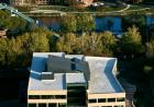 Aerial view of the College of Public Health Building