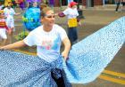 Carnaval parade through Iowa City