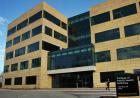 Exterior photo of UI College of Public Health Building